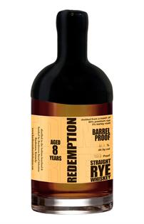 Redemption Bourbon High-Rye Barrel Proof 750ml